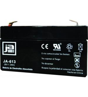 BATERIA ELECTROL.ABSORBIDO 6V-1.3AH