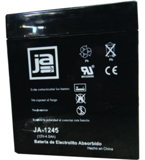 BATERIA ELECTROL.ABSORBIDO 12V-4.5A