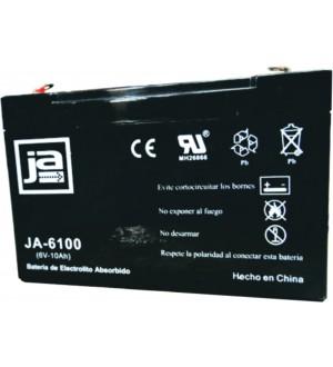 BATERIA ELECTROL.ABSORBIDO 6V-10AH