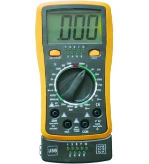 * TESTER JA-4300 PROB.CAB USB SIN PILAS