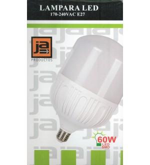 LAMPARA LED 60W E27 3000K JA-L1560 - LLD760C