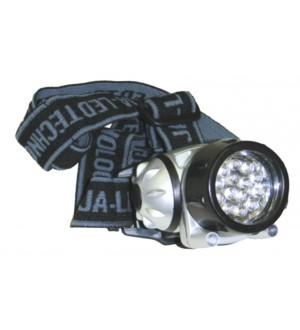 LINTERNA JA-8014 14+2 LEDS HP S/PIL