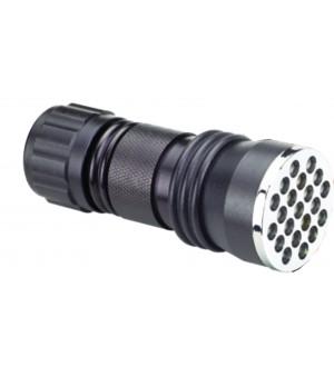 LINTERNA JA-8021 DE 21 LEDS S/PILAS