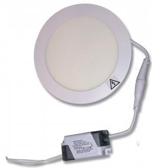 PANEL LED DE EMBUTIR 6W REDONDO 3000K (CALIDO). LPR306C