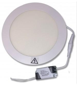 PANEL LED DE EMBUTIR 18W REDONDO 6500K (FRIO). LPR318B