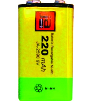 BATERIA RECAR.9V NI-MH 220MA X1