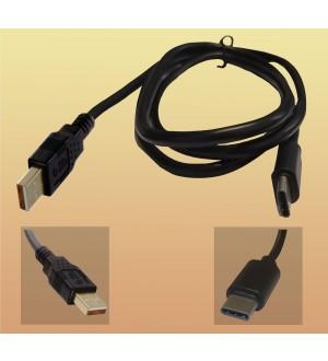 """CABLE USB""""A"""" MACHO A USB""""C"""" MACHO 3.0 2M - USB0330"""