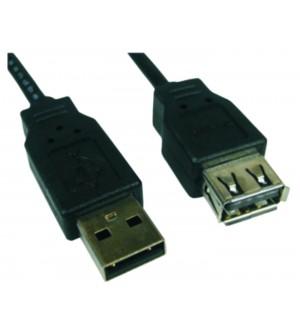 "CABLE USB MACH ""A""-HEMBR ""A"" 2M. USB0972"