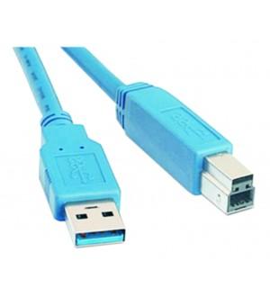 """CABLE USB 3.0 MACH """"A""""-MACHO """"B"""" 2M"""