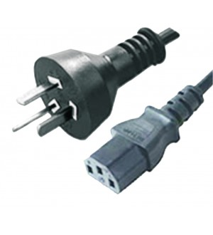 CABLE 250V 10A 3 PINES C/CONEC P/PC
